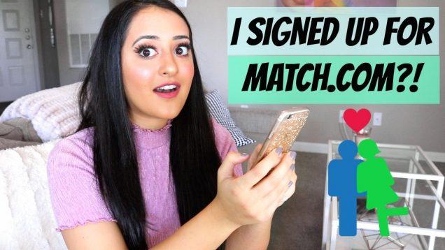 I SIGNED UP FOR MATCH.COM?   DATING APP REVIEW