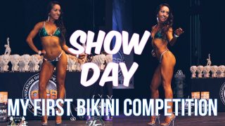 MY FIRST BIKINI COMPETITION || OCB SHOW DAY