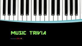 New Music Trivia Show – Music Trivia #1