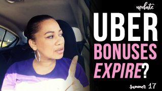 Wait…Uber Referral Bonuses Expire?  – Vlogtober 2017