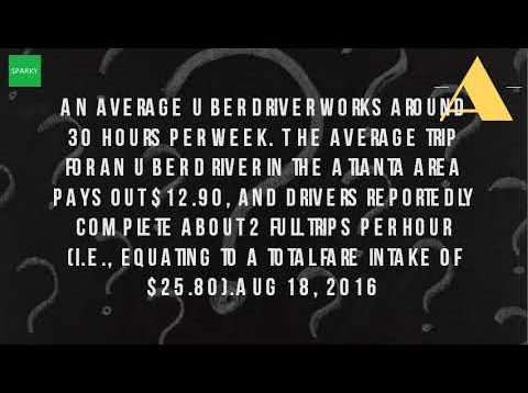 How Much Do You Make With Uber In Atlanta?