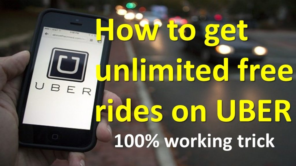 How to earn unlimited rides in UBER 100% working trick