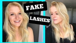 How to: Fake Eyelashes, Tips and Tricks!