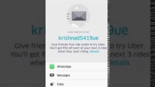 How To Get Free Uber Rides || Telugu ||