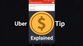 Uber Driver Tip Policy Explained. If you own them money — they take away your tip!
