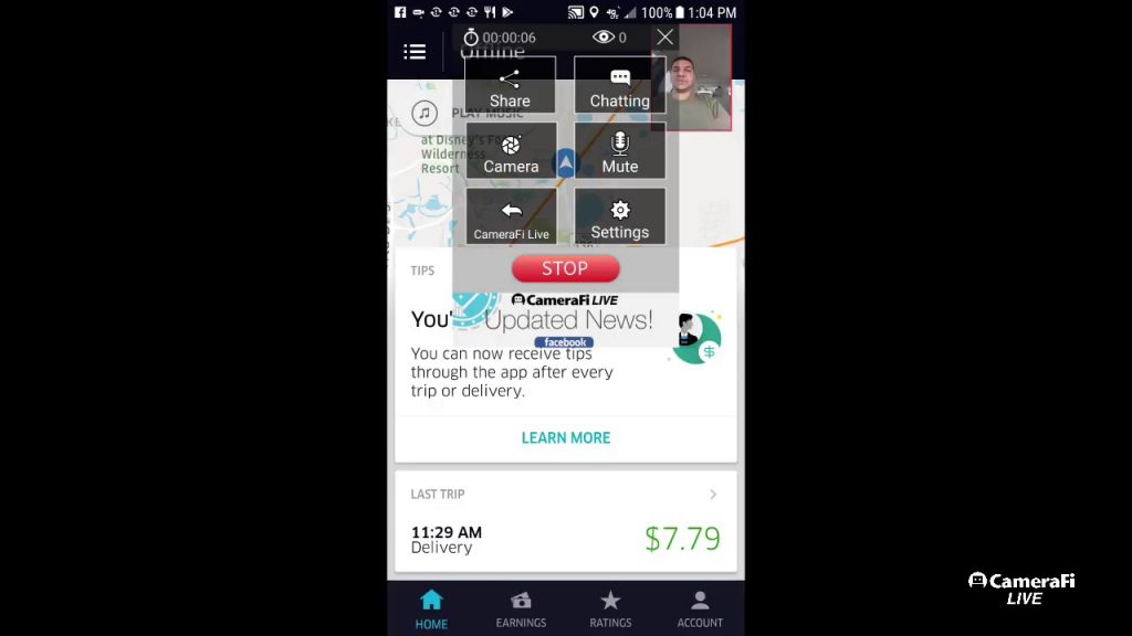 Uber updated the drivers app to allow tipping nation wide!