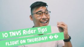 WHAT ARE TNVS? | TEN RIDER TIPS (UBER,GRAB, ECT.) | THURSDAY FLIGHT (NEWS) | VLOG #09