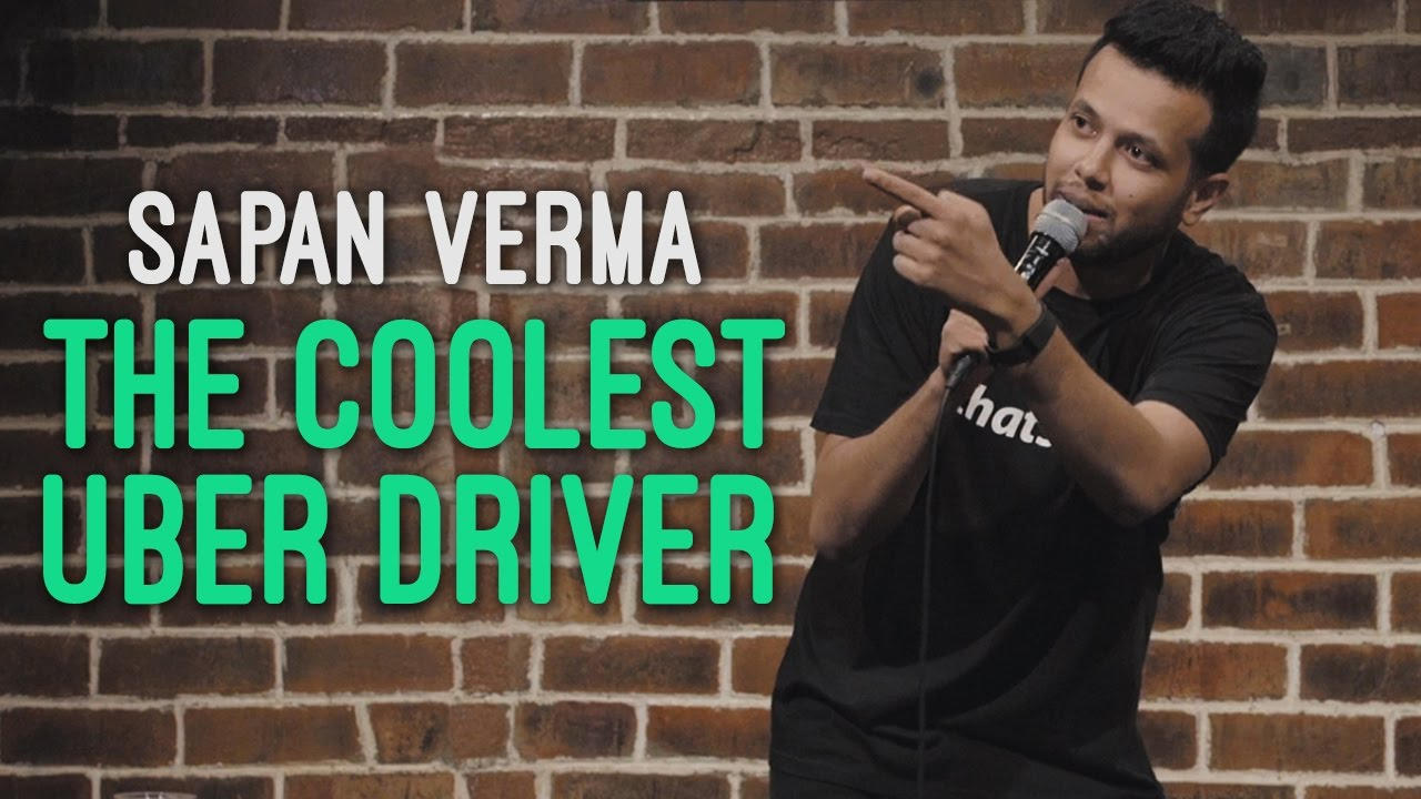 EIC: The Coolest Uber Driver – Sapan Verma Stand Up