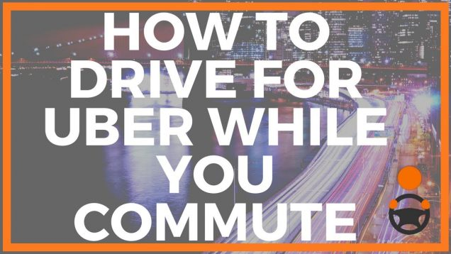 Get Uber trips on your way to from work or while commuting around town