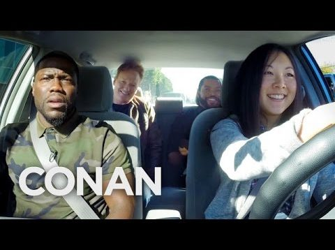 Ice Cube, Kevin Hart And Conan Help A Student Driver  – CONAN on TBS