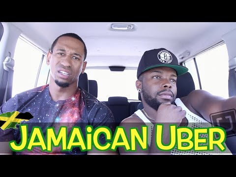 JAMAICAN UBER DRIVER