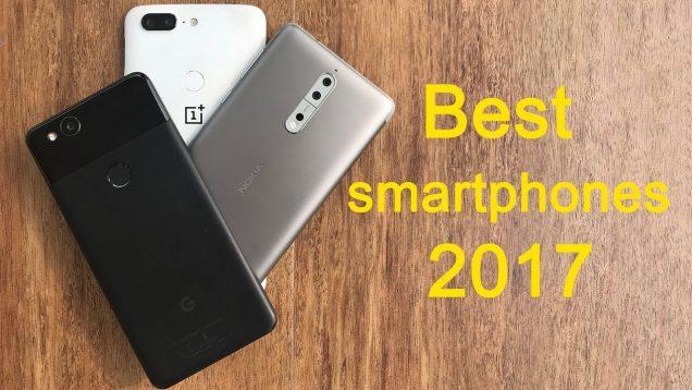 Top 10 smartphones of 2017