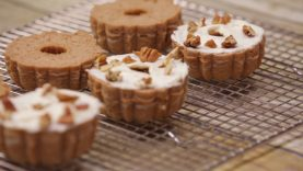 Shipt Dessert Recipes: Mini Pumpkin Bundt Cakes